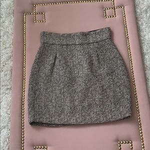 BB Dakota Tweed Skirt